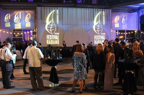 Noche de Bienvenida XVIII Festival del Habano