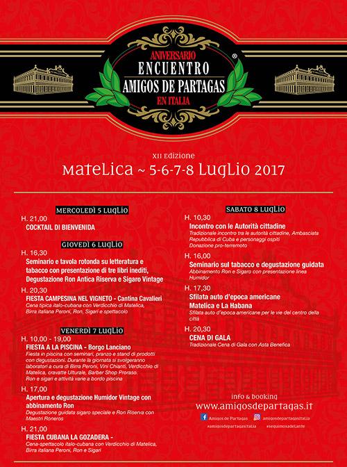 Encontro de Amigos de Partagás Italia 2017