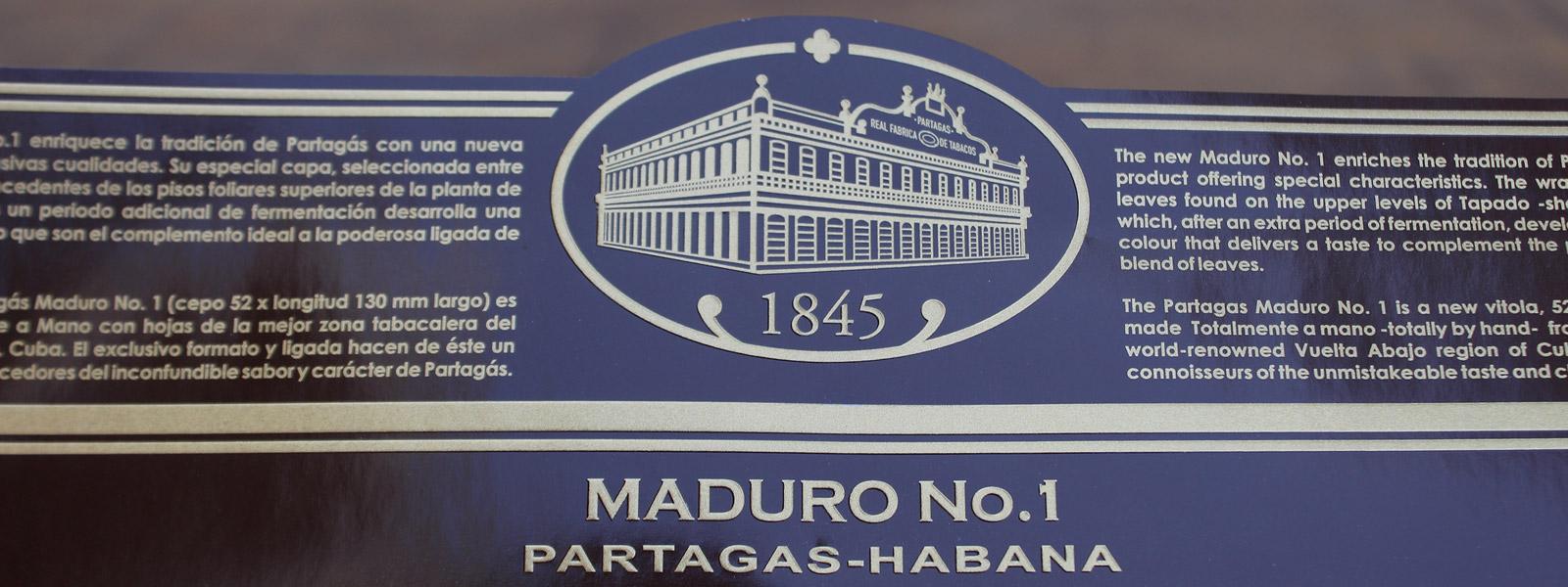 Partagas Maduro