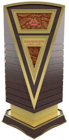 Leilão de umidores XX Festival del Habano Montecristo